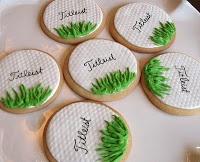 Golf Theme groom's cake and some cookies?