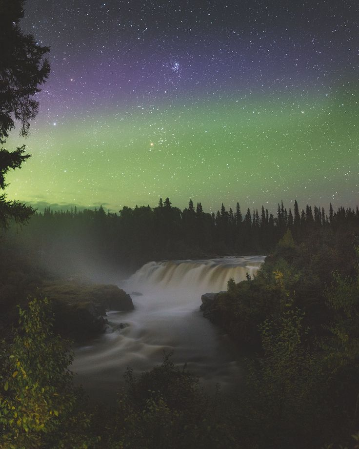 Pisew Falls Provincial Park is one of the most stunning