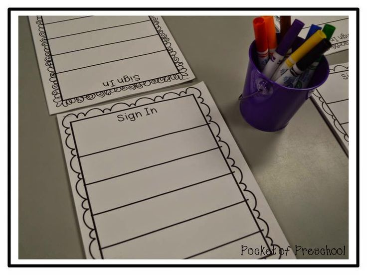 Best 25+ Sign In Sheet Ideas On Pinterest Sign In To, Preschool   Create  Create A Sign In Sheet