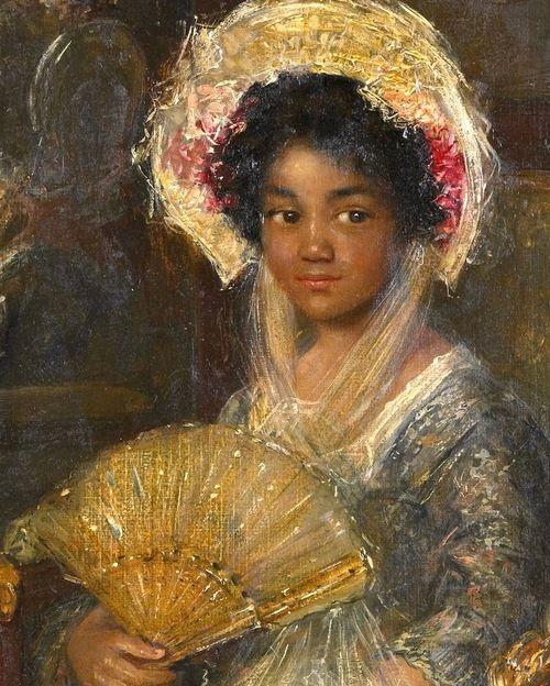 Simon Willem Maris Portrait of a Young Black Woman Netherlands (1890s) 44 x 29 cm. Rijksmuseum, Amsterdam