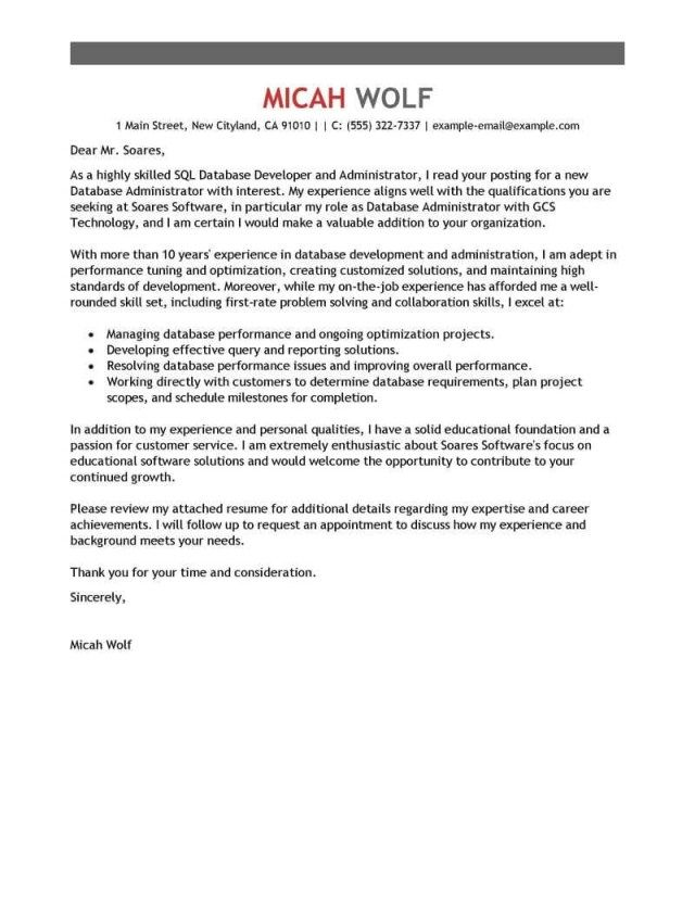 27+ Cover Letter Content | Resume Cover Letter Example | Pinterest ...