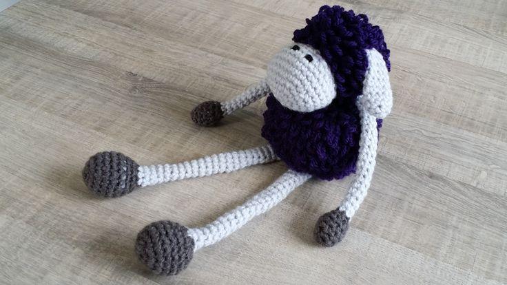 Sheldon the Sheep gemaakt voor Ellen.