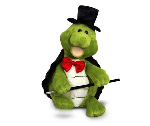 Cuddle Barn Truman Turtle singing dancing Puttin' On The Ritz Plush Toy  $28.00 Sold at Baby Family Gifts Ebay  #ebay #turtle #toy #stuffedanimal #sings #toy #kids