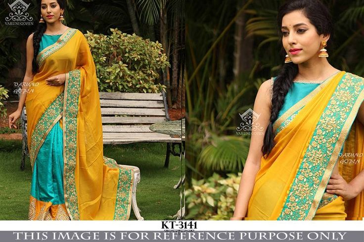 SFH Bollywood Designer Sari Lehenga Party Wear Saree Festival Wedding KT-3142…