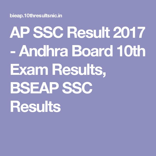 AP SSC Result 2017 - Andhra Board 10th Exam Results, BSEAP SSC Results