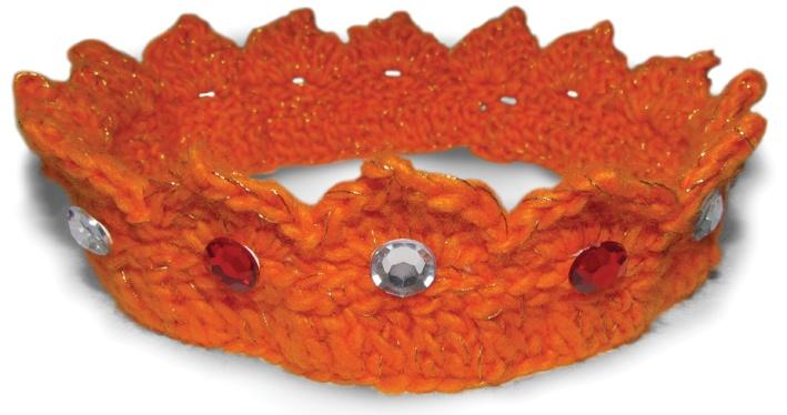 Crochet Apparel (Corona): CROWN for Queen