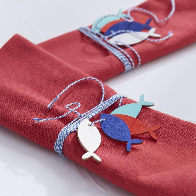Rond de serviettes - Idées déco Zôdio