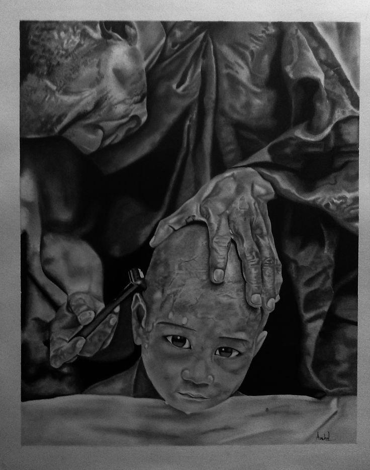 Untitled @portrait,sketch,graphite Photo source-Alison wright