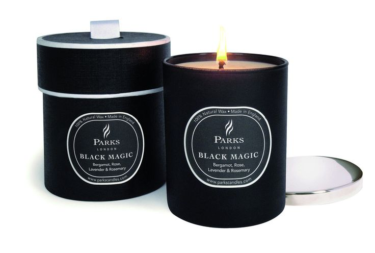 PARKS Black Magic one Wick Candle 'Bergamot Rose'