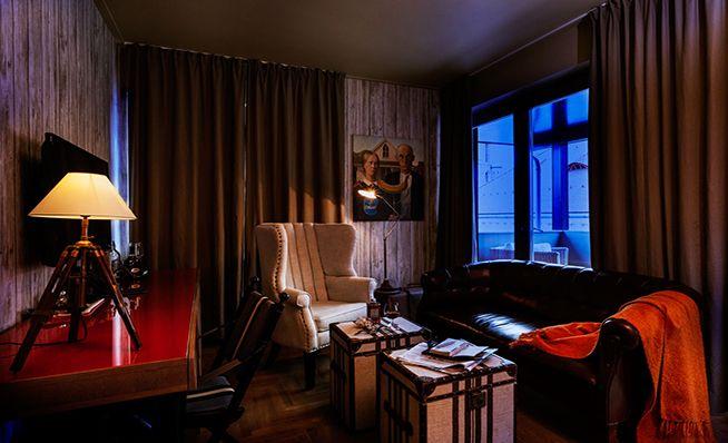 Eclectic hotel design