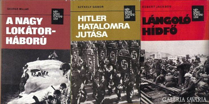 Népszerű történelem sorozat 3 könyv