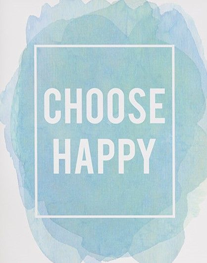 Inspirational quote print - choose happy print - best friend gift