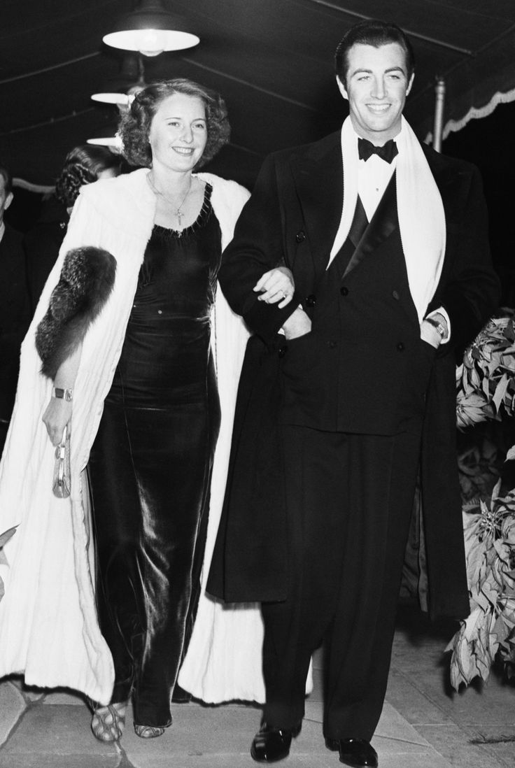 Barbara Stanwyck y Robert Taylor, 1936