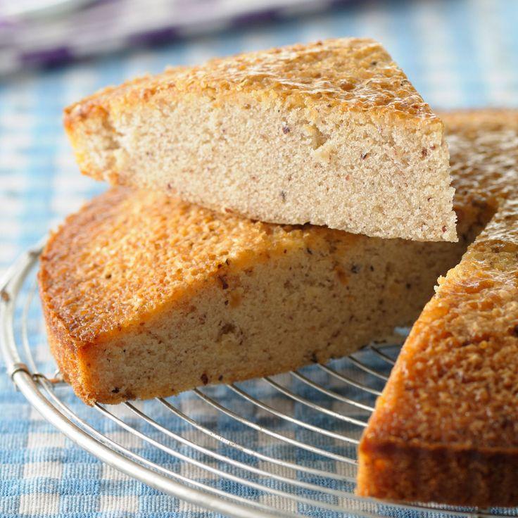 Découvrez la recette Gâteau à la poudre de noisettes sur cuisineactuelle.fr.