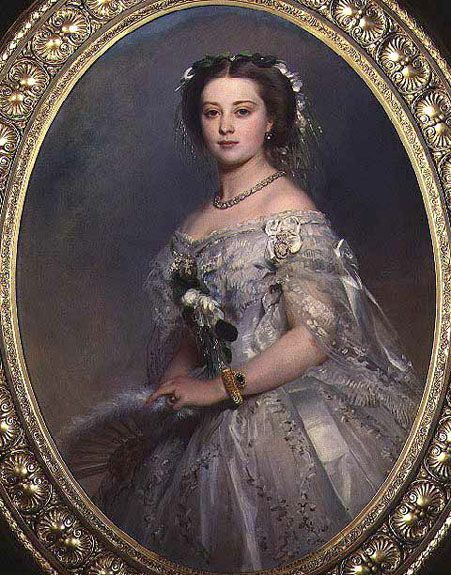 Victoria, Princess Royal, by Franz Xaver Winterhalter, 1857.