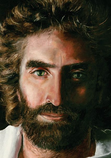 by Akiane Kramarik, she was 8 years old at the time!! This is a portrait of Jesus as he appeared to the Artist..... Titled, Prince of Peace