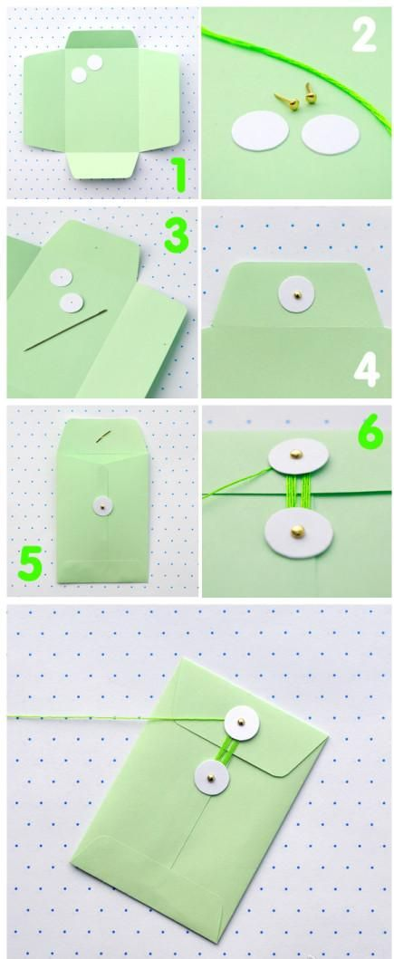 DIY Envelope Folders