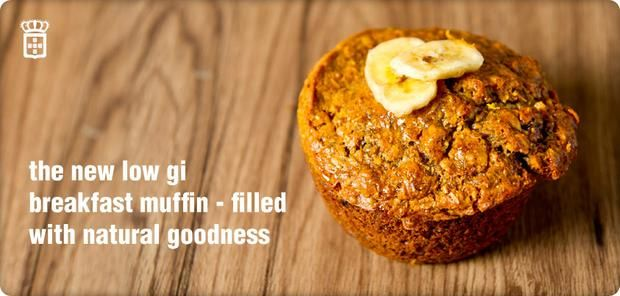 Try our new Low gi Breakfast muffin.
