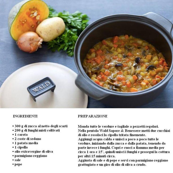 Regalati il calore e la genuinità di un minestrone autunnale preparato con la pentola Wald Sapore & Benessere. Acquistala sul nostro e-commerce. http://www.teresapizzigalloshop.it/home/444-pentola-con-coperchio-wald.html?search_query=wald&results=3