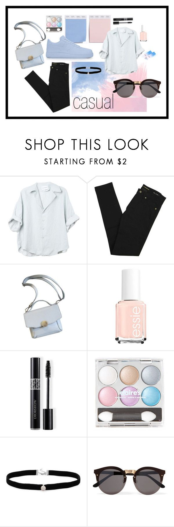 """Sin título #248"" by camilazeballo on Polyvore featuring moda, Yves Saint Laurent, Christian Dior, Amanda Rose Collection, Illesteva y Sephora Collection"