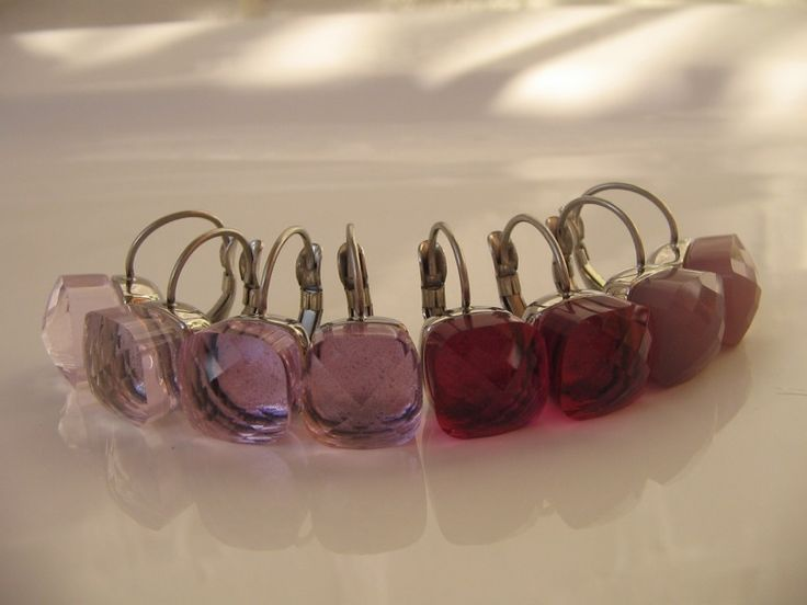 Qudo Firenze Ohrringe m. Brisur * Edelstahl silber * rosa light rose * DER TREND | eBay