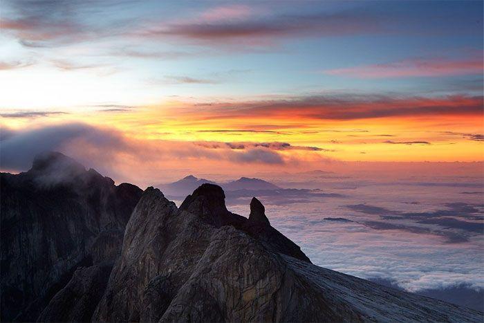 Monte Kinabalu Sabah en Borneo