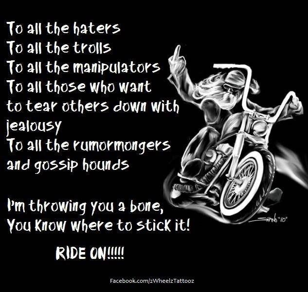 Pin By Chopper Exchange On Biker Quotes