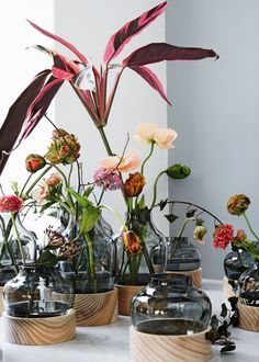 low + high vases - milano - fritz hansen - 2016