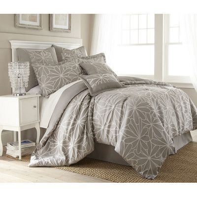 Colonial Textiles Kate 8 Piece Comforter Set & Reviews | Wayfair