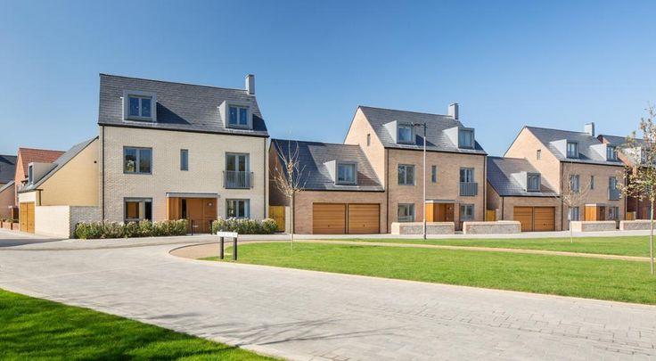 Wienerberger provided #bricks and #roof tiles to an award winning housing development in Cambridge – Barratt Homes Eastern Counties' Trumpington Meadows