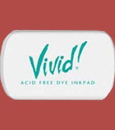 Clearsnap Vivid Mini Pad - Brick An acid free premium dye inkpad. Ideal for glossy or coated papers. Non-toxic. $2.50