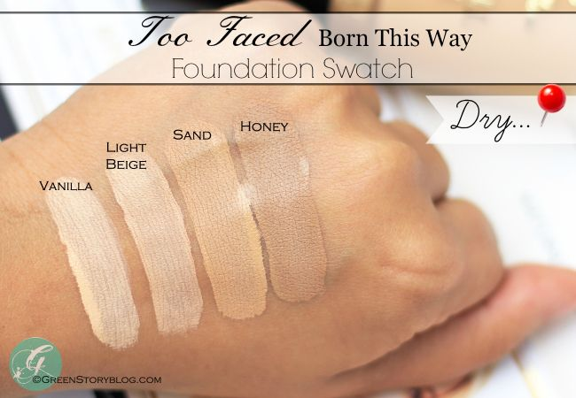 Too Faced Born This Way Foundation Foundation Face And
