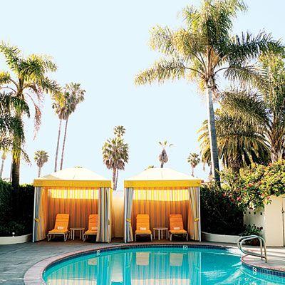 Santa Barbara, CA: Relax under a pool-side cabana at the off-the-beaten path Hotel Oceana.