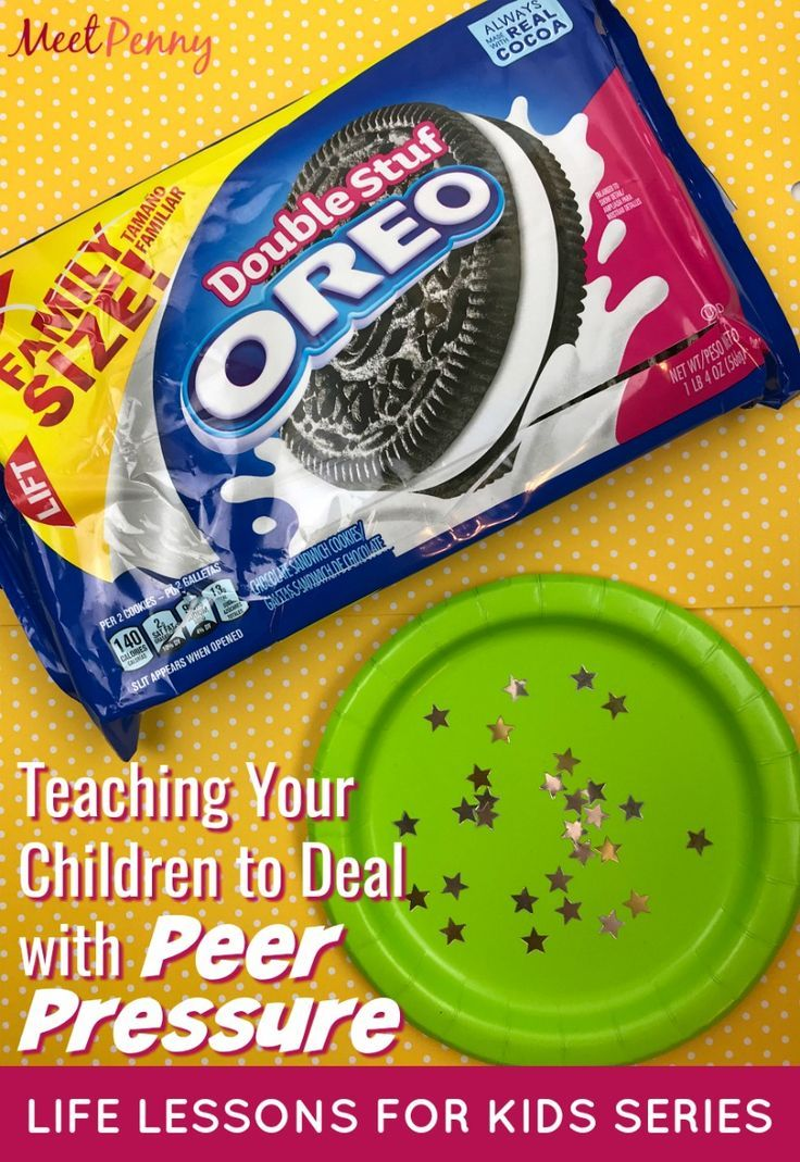 What does an OREO know about Peer Pressure? | Character Training