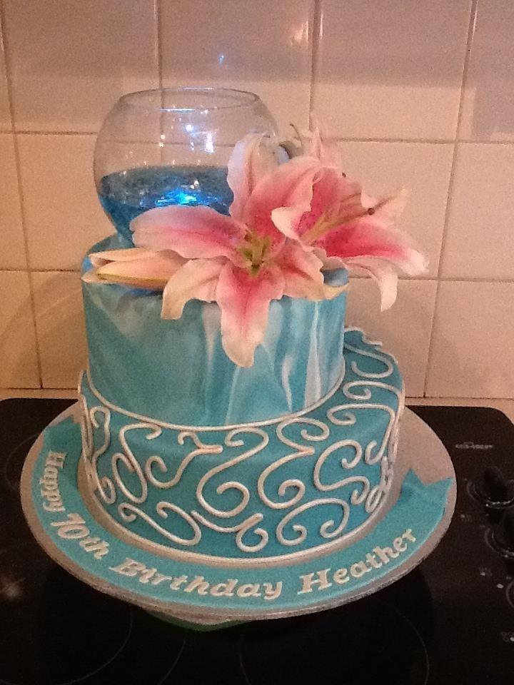 Cake Vase Set