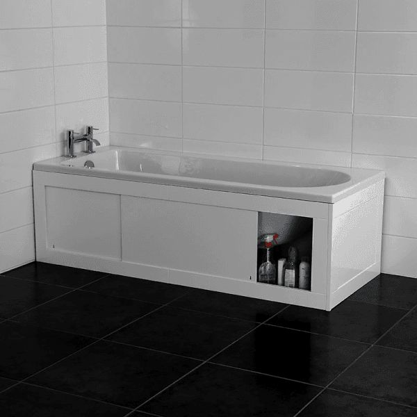 best 25 bath panel ideas on pinterest bathtub storage. Black Bedroom Furniture Sets. Home Design Ideas