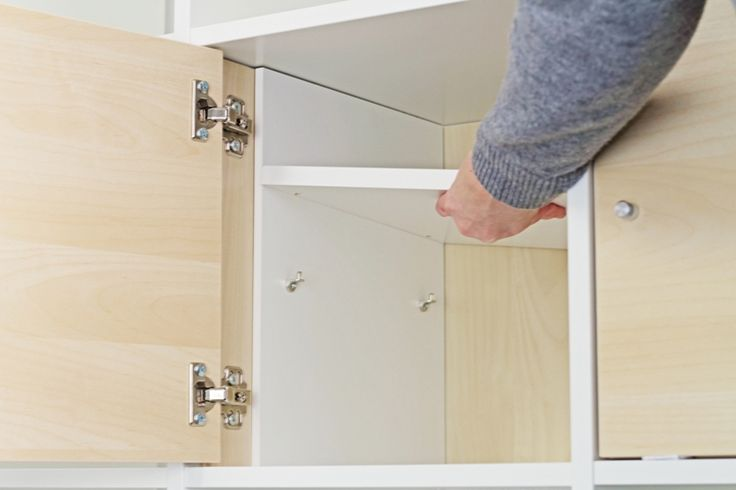 Ikea Kallax Tür mit Extrafach ausstatten News BLOG  New Swedish Design
