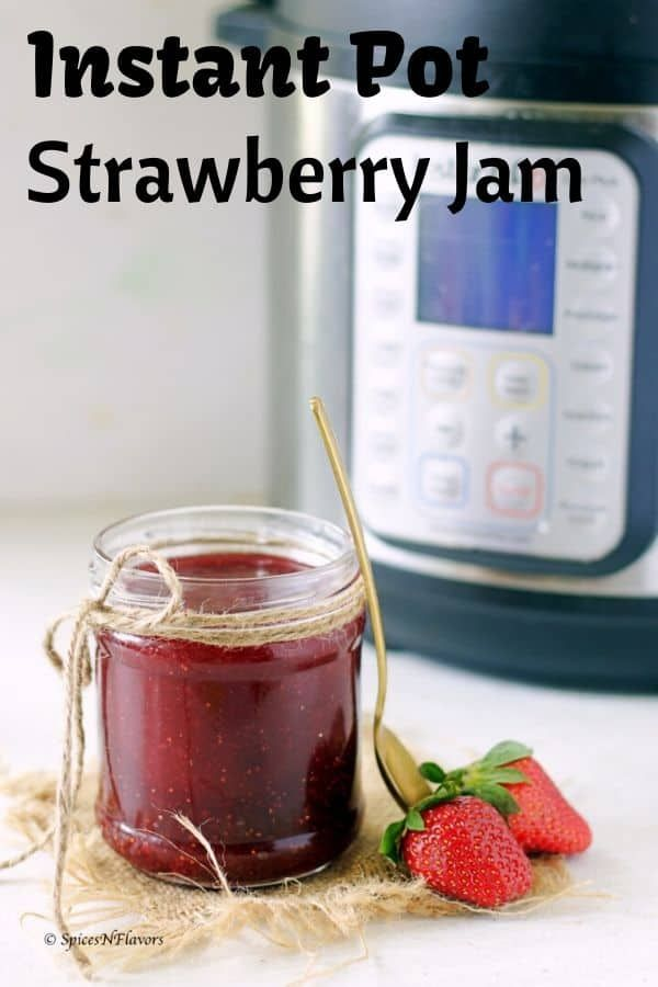 2020 Christmas Jam Christmas Jam   Instant Pot Strawberry Jam | Recipe in 2020