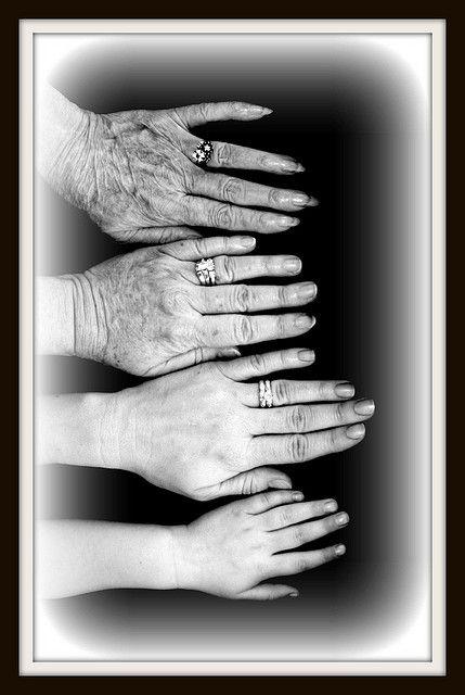 4 generations.  Photo by Marsha Ericks.  (from Flicker)