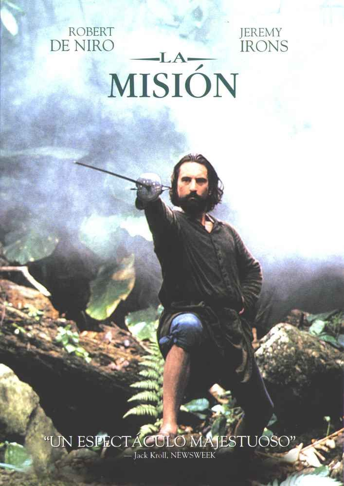 La misión (1986) Reino Unido. Dir: Roland Joffé. Drama. Aventuras. S. XVIII. Relixión - DVD CINE 178