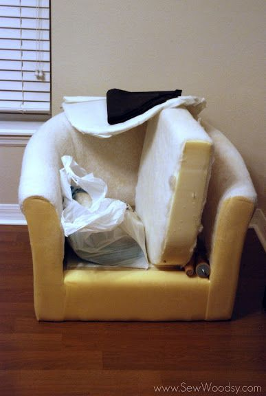 recovering the ikea tullsta chair sew woodsy home building renovations pinterest sew. Black Bedroom Furniture Sets. Home Design Ideas