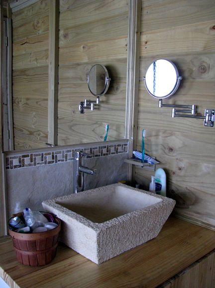 Espacio de Baño TDE #woodarchitecture #wood #madera #casasenmadera #arquitecturaenmadera http://www.tallerdensamble.com