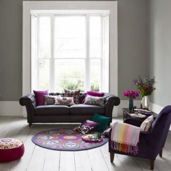 25 best purple and grey living room ideas images on for Purple and grey living room ideas