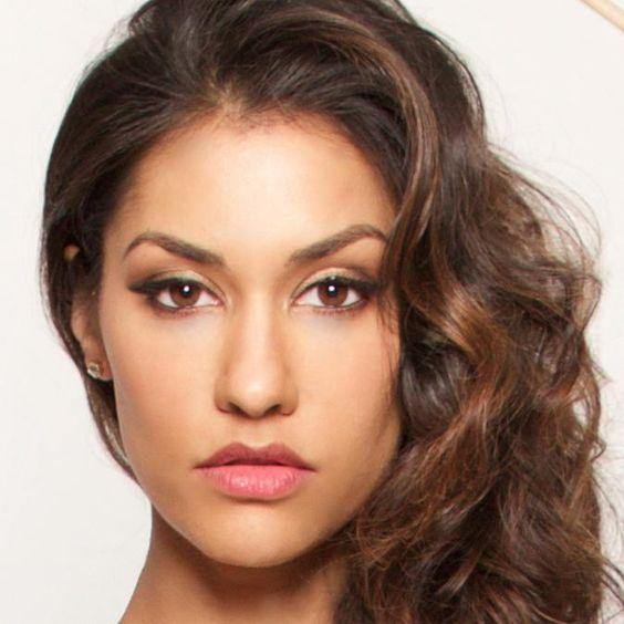 Janina Gavankar//female, adult, brown skin, Indian, brown hair, curly hair, brown eyes