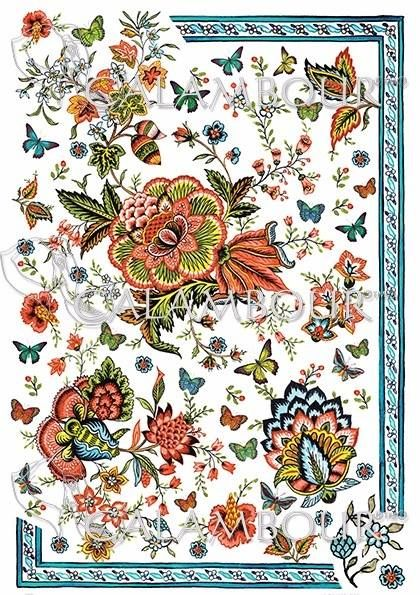 DGR 300 #decoupage #farfalle #hobby #flowers #cartadiriso #carta #ricepaper #craft #calambour #handmade #decoration  #cachemire #paisley #gipsy