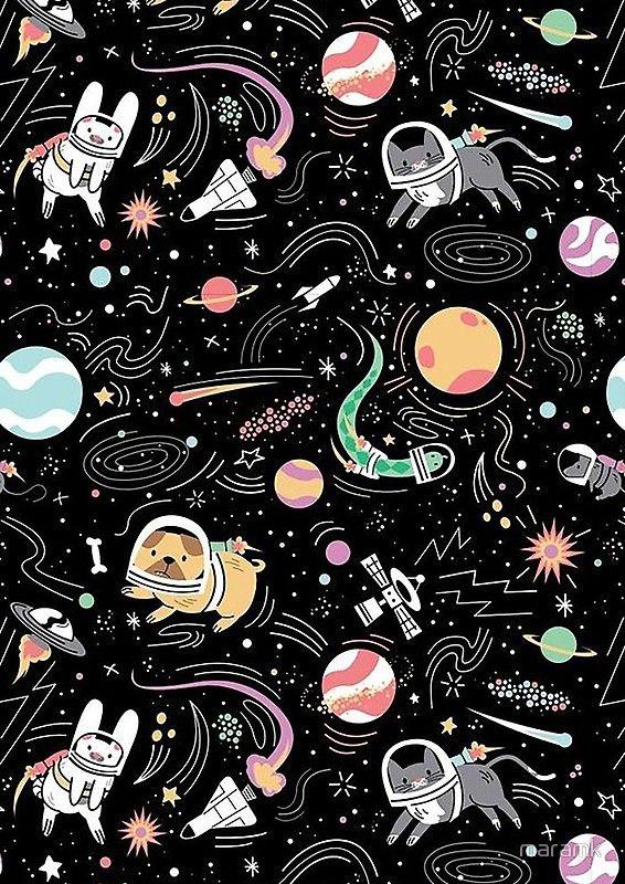 Space Spiral Notebook By Maramk Space Iphone Wallpaper Art Wallpaper Galaxy Wallpaper