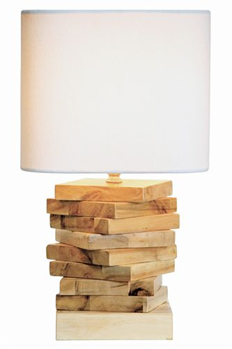 This lamp is the perfect combination of rustic and modern. 39 Stunning Ways To Make Over Your Home #refinery29