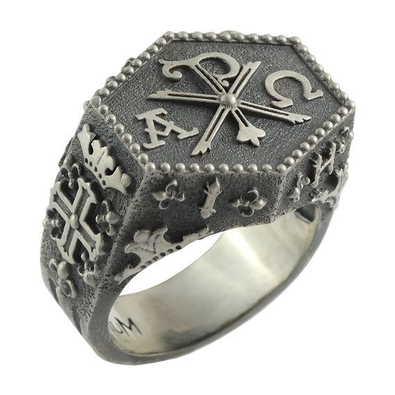 Knights+Templar+Masonic+Chi+Rho+Sterling+Silver+by+vipZone3440