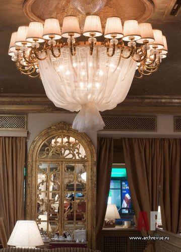 Дизайн интерьера итальянского ресторан BEL МОНДО  в духе европейской эклектики   Interior design italian restaurant BEL Mondi in the spirit of european eclecticism