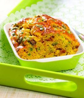 Cake aux légumes et au curry - Sans gluten - Ma recette pour La Vie Claire magazine, Valérie Cupillard